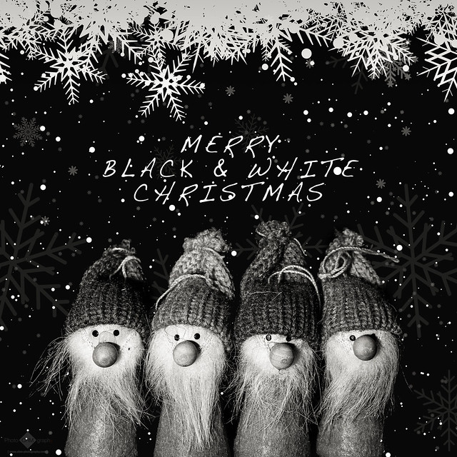 Merry Black & White Christmas