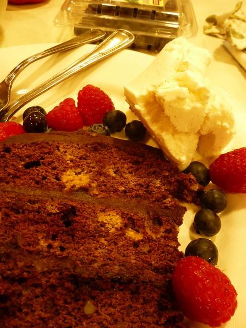 Cake Ice Cream Fruit May 16, 2014