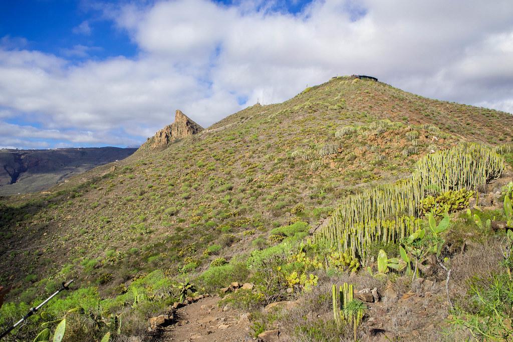 La Centinela y Roque de Jama en Tenerife