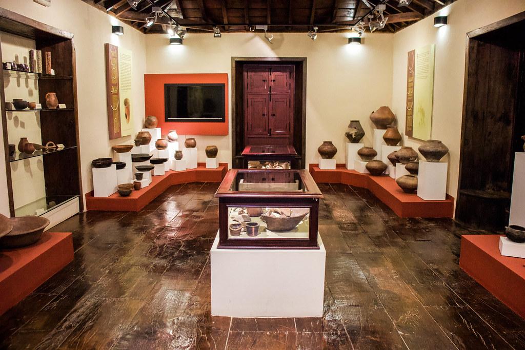 Interior de la casa Museo El Capitan en San Miguel de Abona