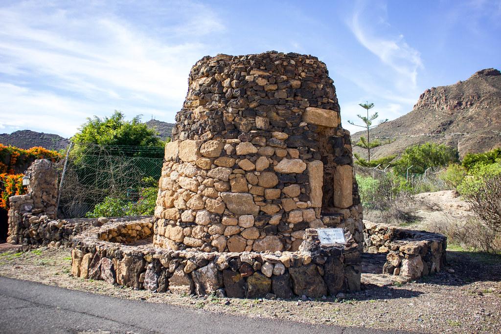 Horno de tejas en el caserío de la Hoya en Tenerife