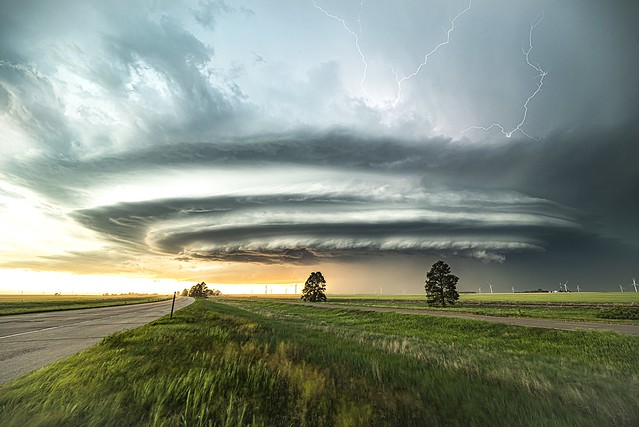 Amazing supercell in Colorado