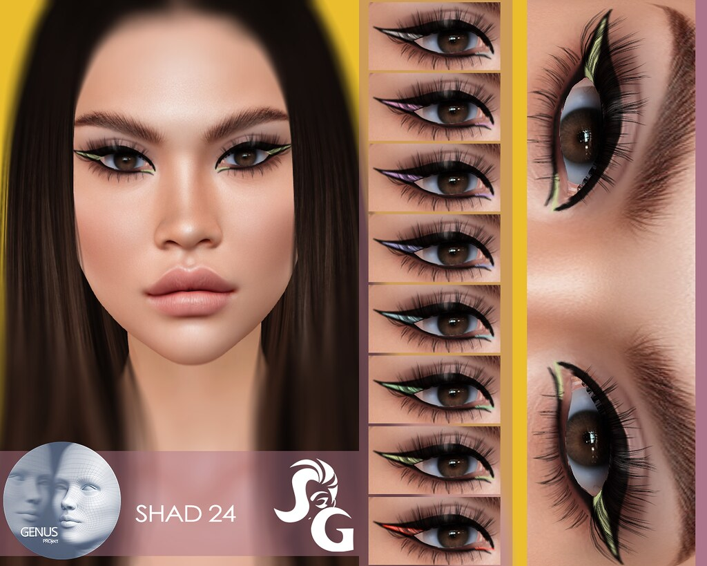 Genus Eyeshadow 24 @
