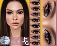 Genus Eyeshadow 24 @