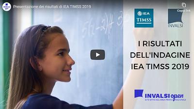 Presentazione dei risultati di TIMSS 2019