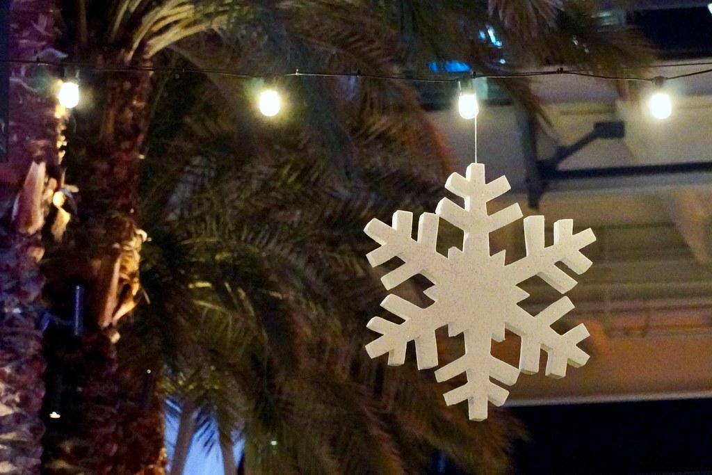 Lone snowflake
