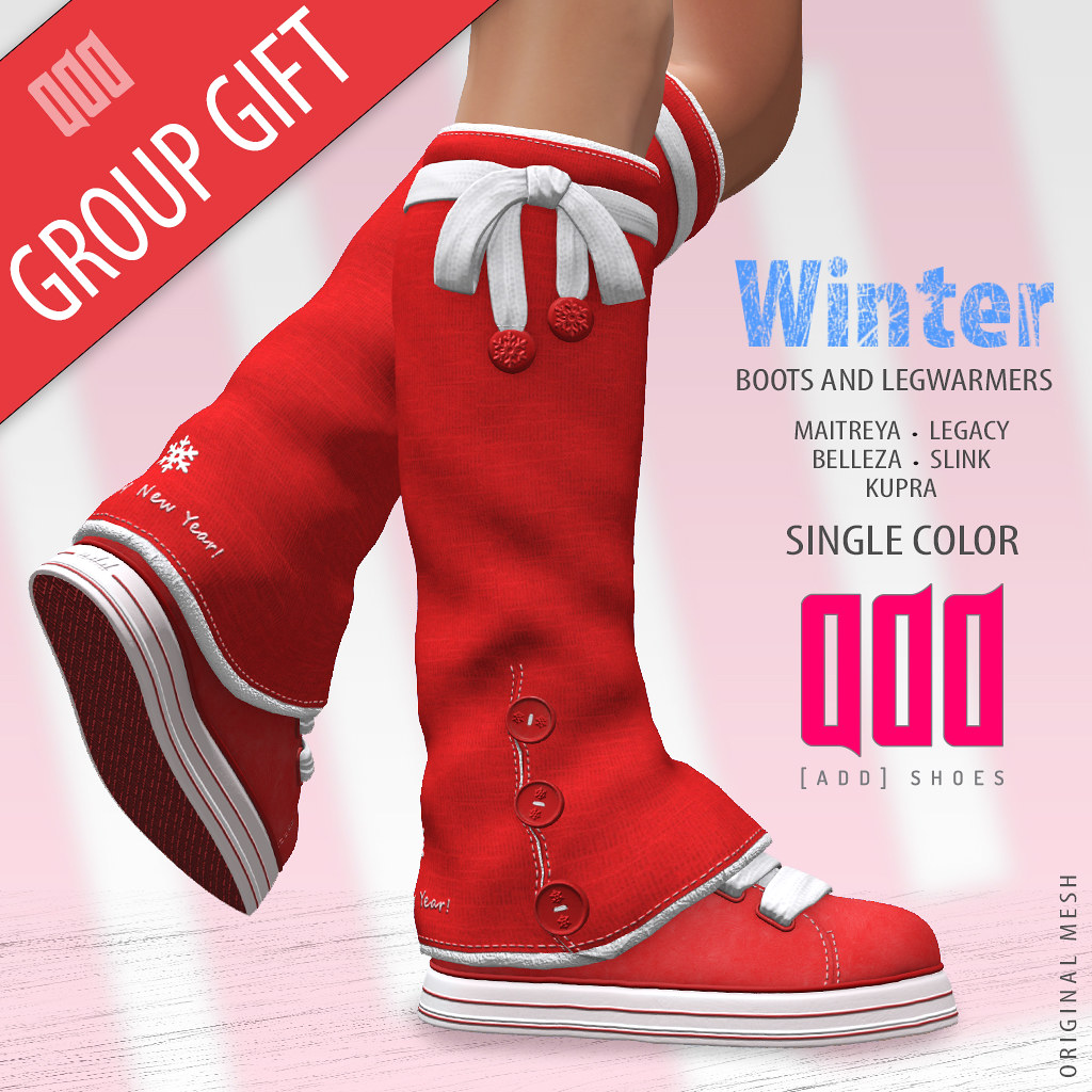 Group Gift – Boots Legwarmers