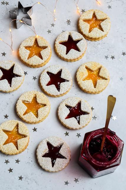 Linzer Cookies (Linzerkekse)