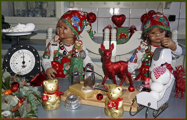 🍩🍰🎄💖🍪🍫♥🍫🍪💖🎄🍰🍩 Grüße aus der Weihnachtsbäckerei ...