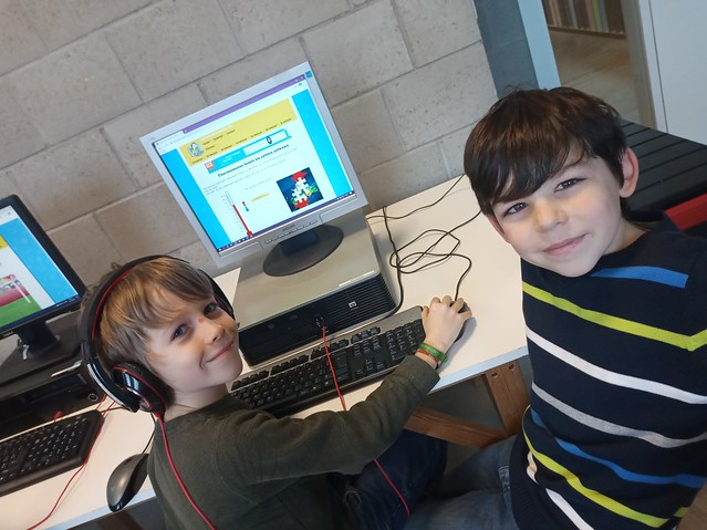 3de leerjaar - Oefenen op de computer