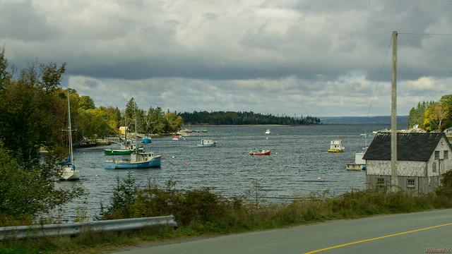 Bateaux de pêcheurs, Nouvelle-Écosse, Canada - 2864