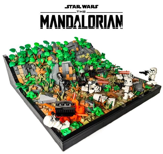 LEGO STAR WARS THE MANDALORIAN Season 2 - Assault on Tython