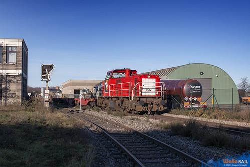 6512 db cargo belgium z65401 ligne 214 Monsin 18 decembre 2020 laurent joseph www wallorail be b