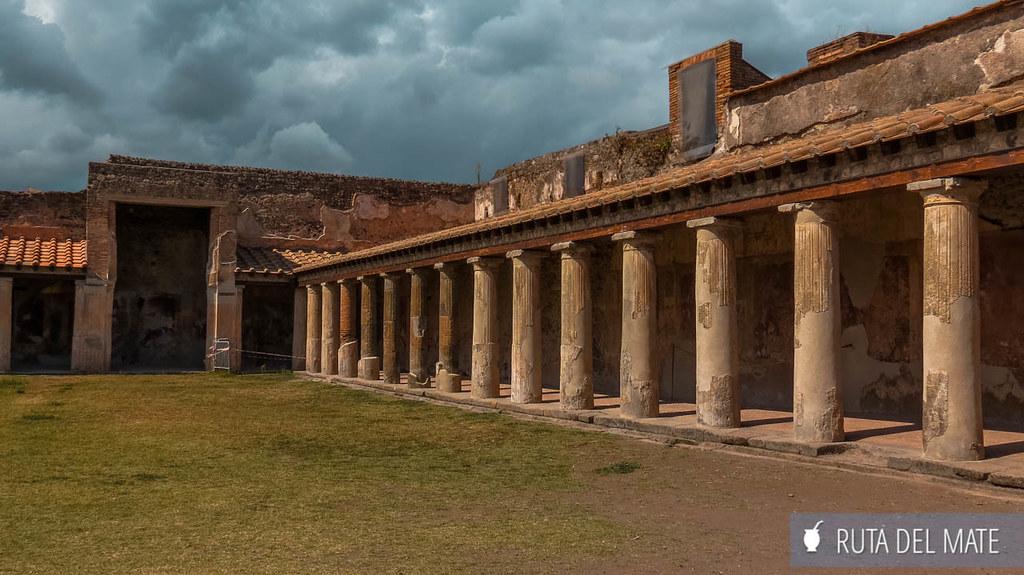 Visitar Pompeya: Termas de Estabia