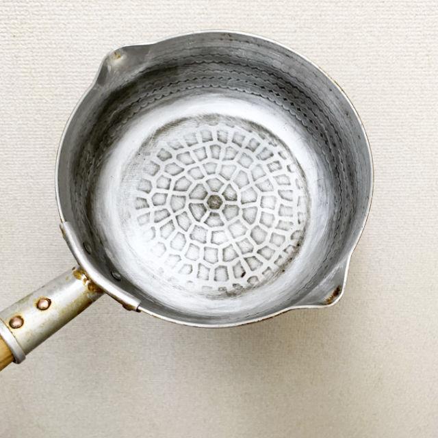 鍋使用後底