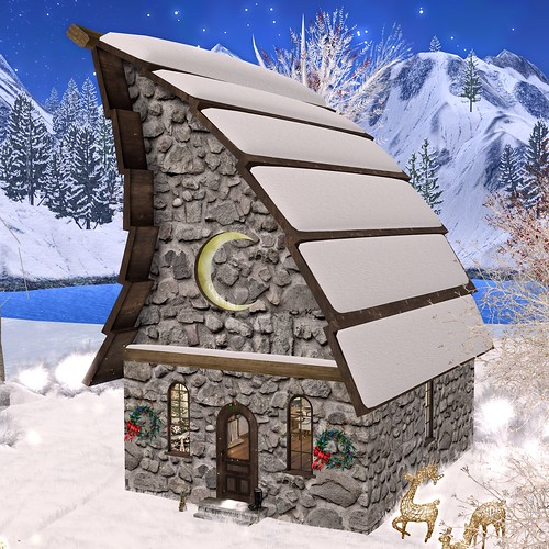 Snow Roof Add-On Ode To The Moon Gift *