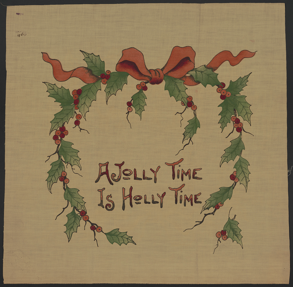 A jolly time is holly time (LOC)