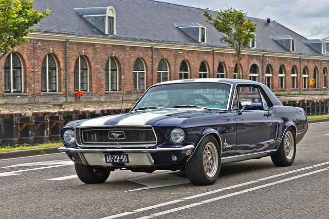 Ford Mustang Hardtop 1968 (6799)