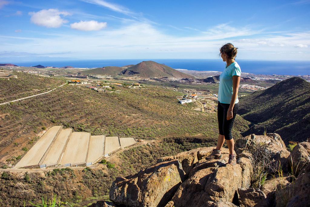 Sur de Tenerife desde el sendero de San Miguel de Abona a Aldea Blanca