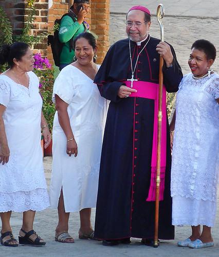 On the Saint Day of the Virgen de la Soledad in Puerto Escondido