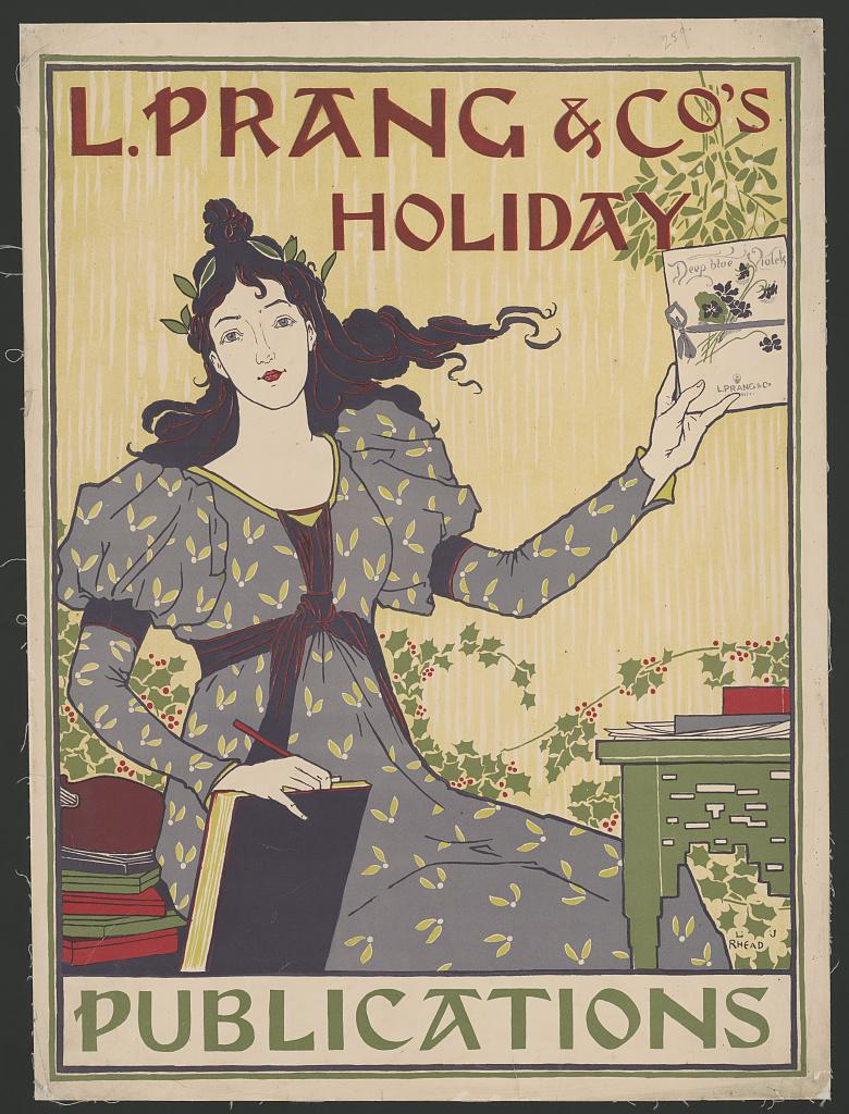 L. Prang & Co.'s holiday publications (LOC)
