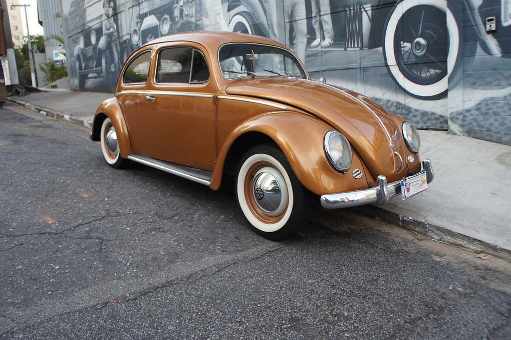 Vw Fusca 1954 Alemao Dourado
