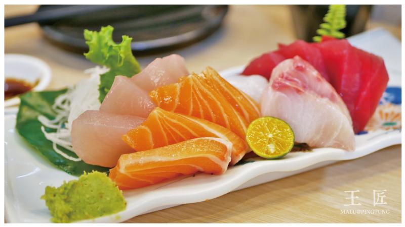 東港王匠黑鮪魚生魚片日本料理-24