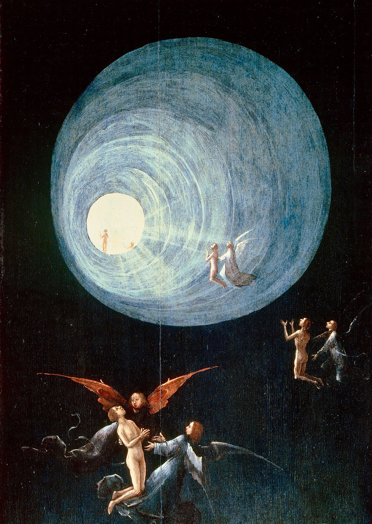 Detail of Hieronymus Bosch's Visions of the Hereafter.