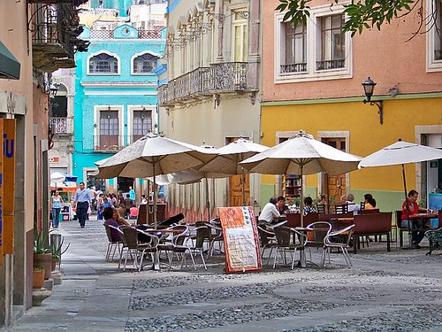 Guanajuato plazas. From Open Your Eyes! A Better Life for Half the Price: How to Thrive on Less Money in the Cheapest Places to Live