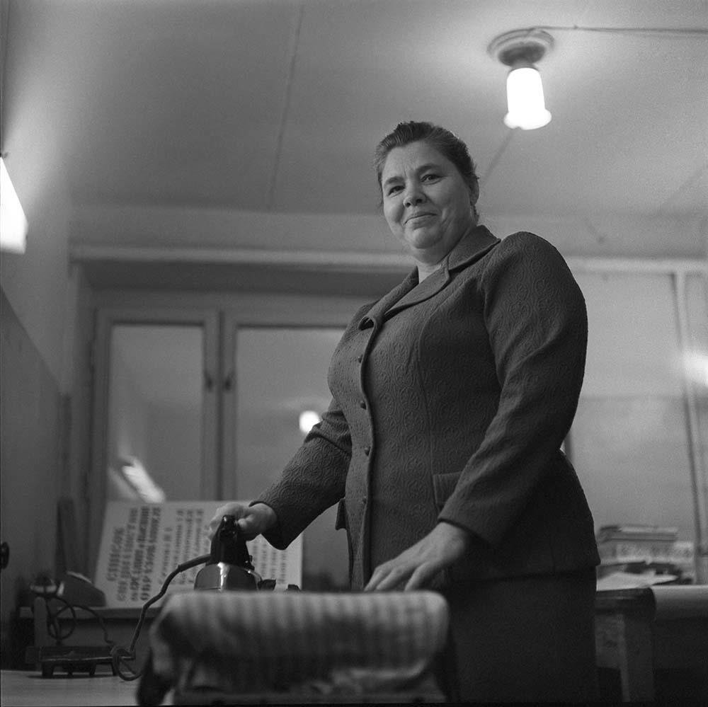 1970-е. На швейной фабрике
