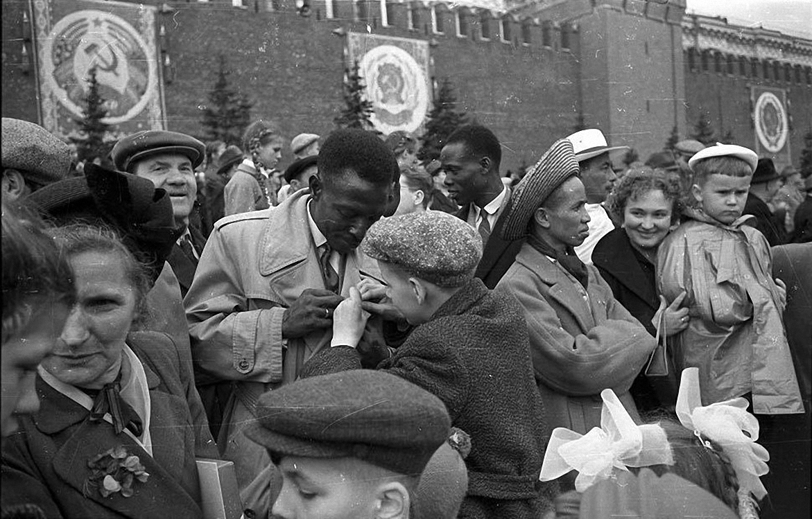 1950-е. На Красной площади