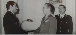 Anni '60  - L'incontro con il Comandante Generale Mino
