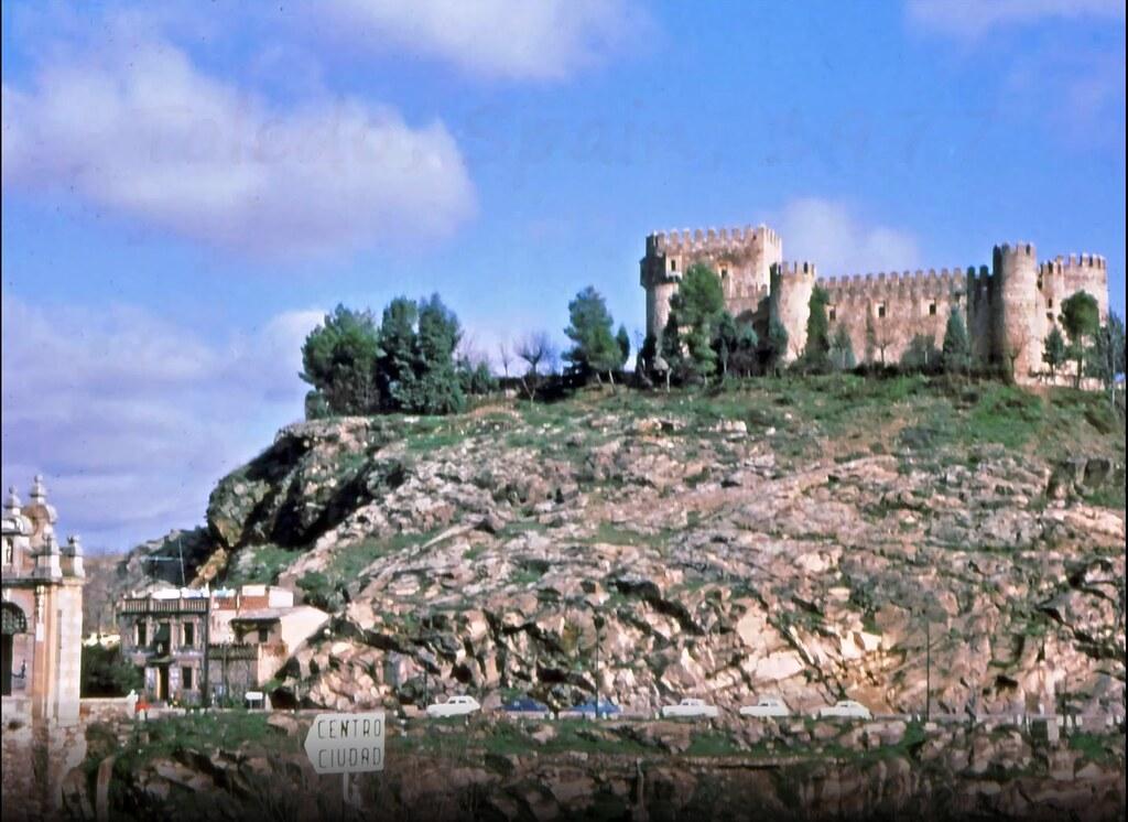 Castillo de san Servando en Toledo el 30 de diciembre de 1977. Fotografía de Peter Laurence