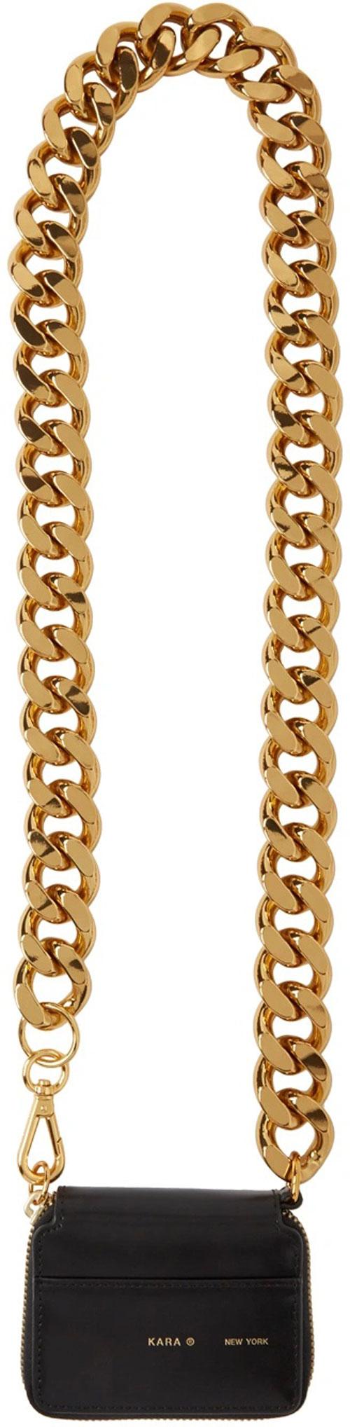 10_ssense-kara-lack-gold-chain-bike-wallet-bag