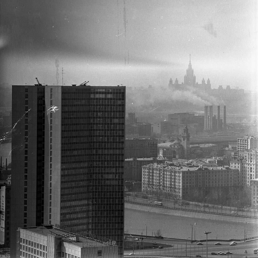 1970-е. Москва строится.