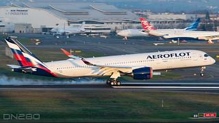 Aeroflot A350-941 msn 429 F-WZNE / VP-BXD