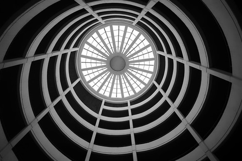 nopeople architecture building lookingup bw perspective hamburg light inside blackandwhite lines design view spiral walimex walimex12mm20
