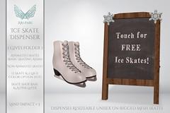 [Ari-Pari] Ice Skate Dispenser