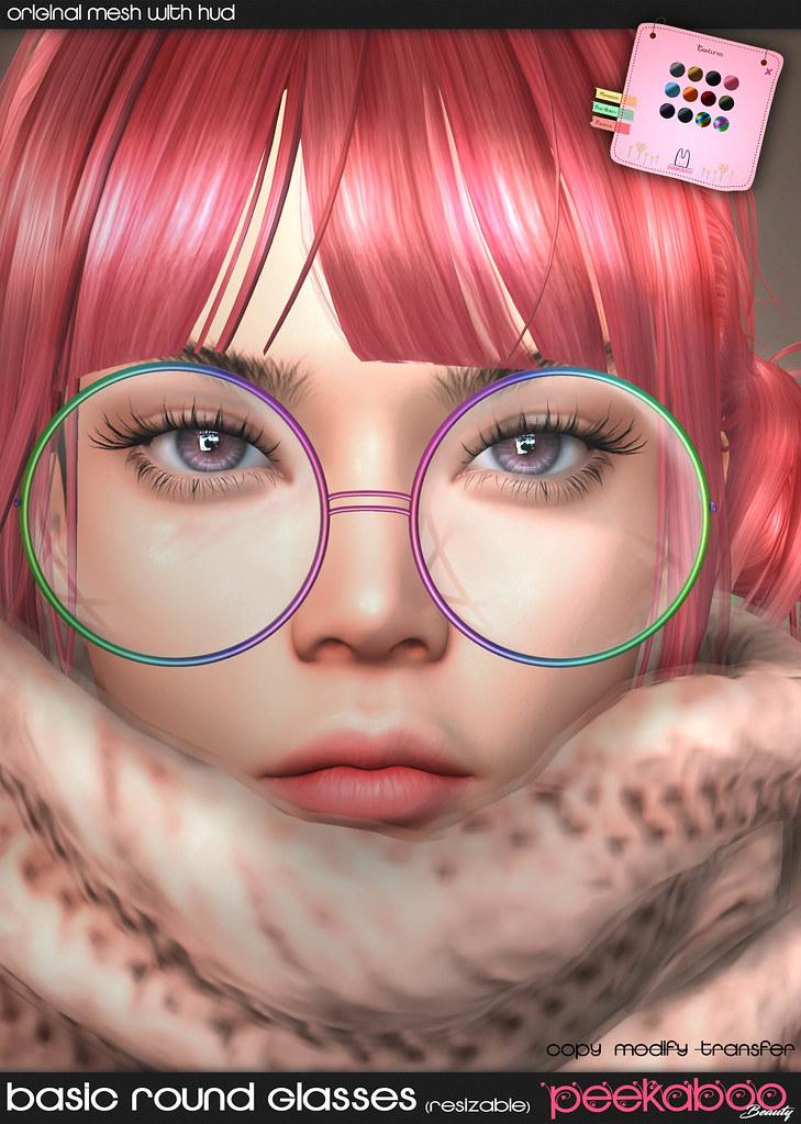 Basic Round Glasses AD