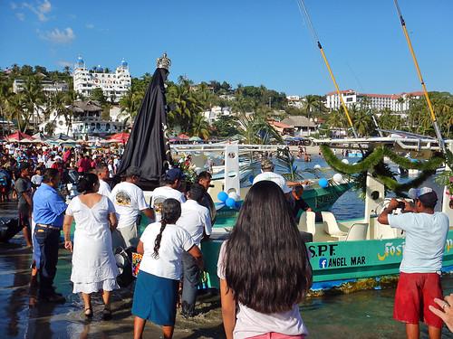 The Virgen de la Soledad in Puerto Escondido