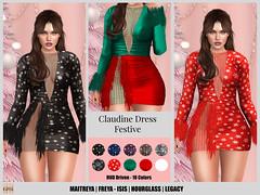 Hilly Haalan - Claudine Dress FESTIVE