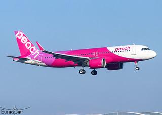 F-WWDS / JA204P Airbus A320-251N Peach s/n 10392 * Toulouse Blagnac 2020 *