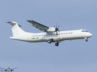 F-WWEY ATR72-600 s/n 1564 * Toulouse Blagnac 2020 *