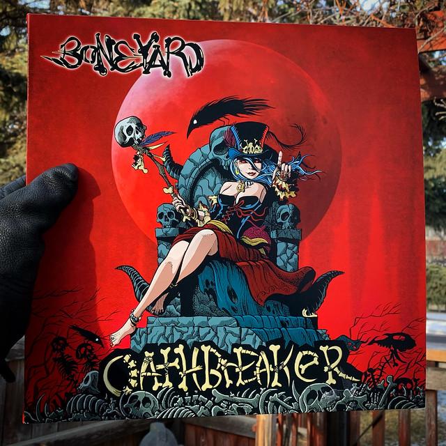 Boneyard Oathbreaker album cover art