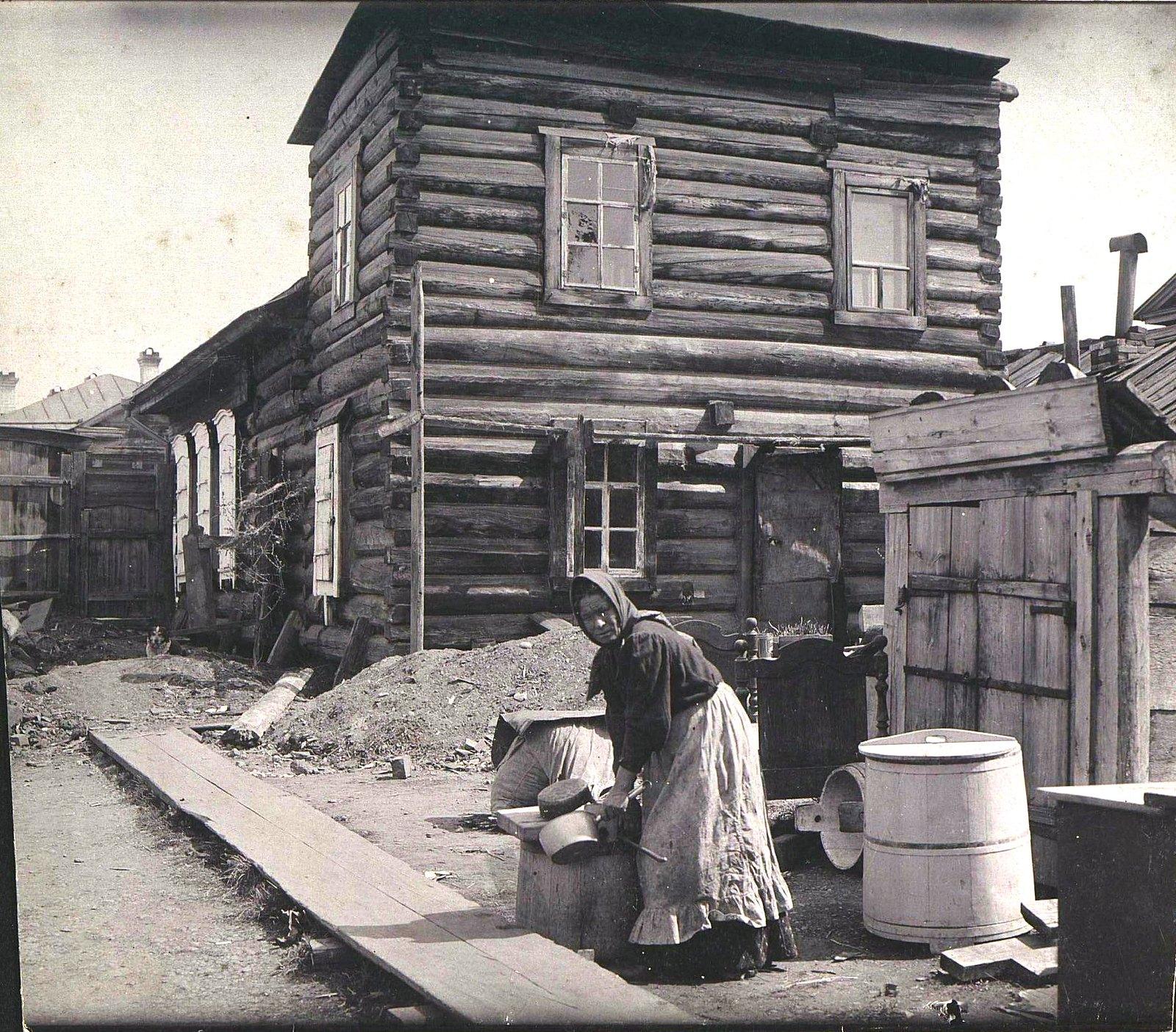 04. Дом Орлова, где жили Мамоновы. 1900-е
