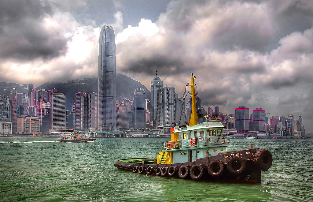 EASTLINK. Tugboat HK.