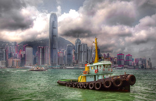 EASTLINK. Tugboat HK.