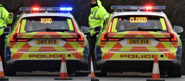 Kent Police Volvo V90 GN19 BVB TD13