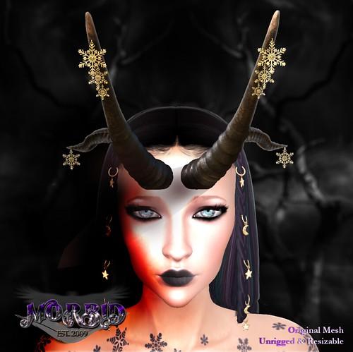 MORBID Neira Yule Horns - 101 Gift