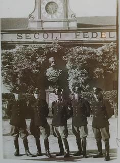 1940 - Di Palma presso la Scuola Allievi CC di Roma